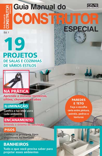 Guia Manual Do Construtor Especial - ESCOLHA SUA EDIÇÃO  - EdiCase Publicações