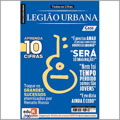 Todas as Cifras - Ed. 29 (Legião Urbana)  - Case Editorial