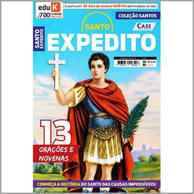 Coleção Santos - Ed. 01 (Santo Expedito)  - Case Editorial