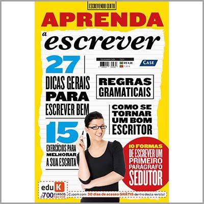 Escrevendo Certo - Ed. 01 (Aprenda a Escrever)                           - EdiCase Publicações