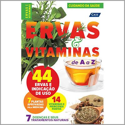 Cuidando da Saúde - Ed. 02 (Ervas e Vitaminas)  - EdiCase Publicações