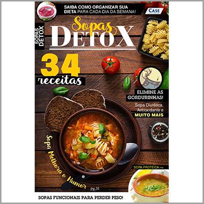Delícias Rápidas - Ed. 22 (Sopas Detox)  - EdiCase Publicações