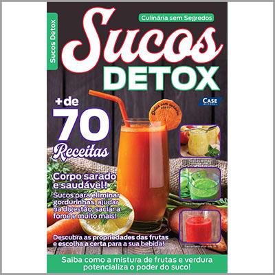 Culinária sem segredos Ed. 01 - Sucos Detox  - EdiCase Publicações