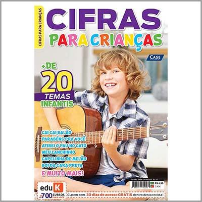 Cifras para Crianças - Ed. 01   - EdiCase Publicações