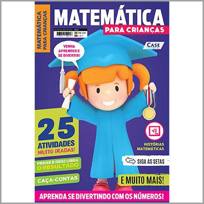Matemática para Crianças - Ed. 01  - EdiCase Publicações