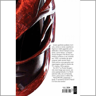 HERÓI MOOK - A SAGA DOS POWER RANGERS  - Case Editorial