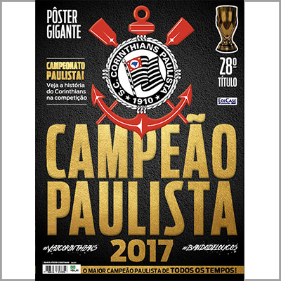 Revista Pôster Corinthians - Ed. 01  - Case Editorial