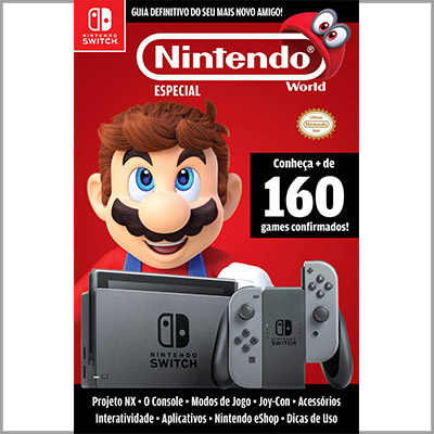 Nintendo World Especial - Ed. 16 (Guia do Nintendo Switch)  - Case Editorial
