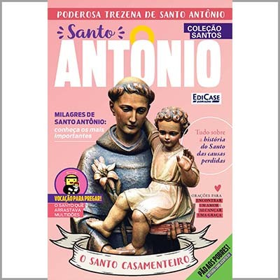 Coleção Santos - Ed. 02 (Santo Antônio)  - EdiCase Publicações