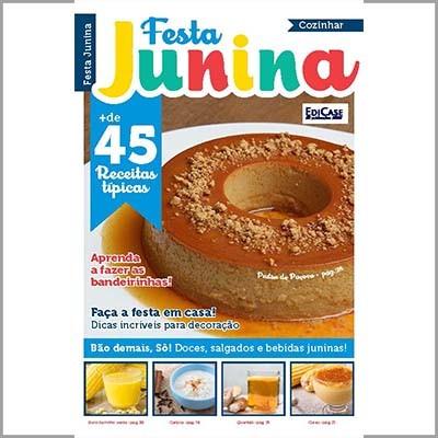 Cozinhar Ed. 02 - Festa Junina  - EdiCase Publicações