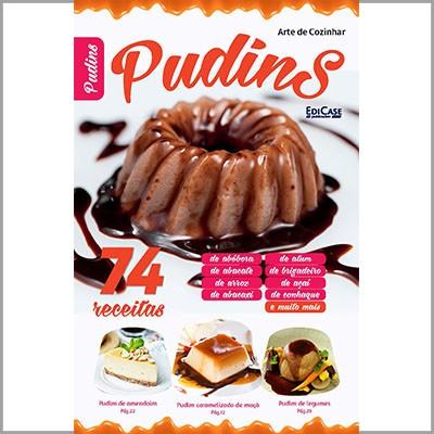 Arte de Cozinhar Ed. 02 - Pudins  - EdiCase Publicações
