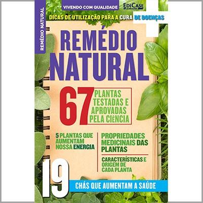Vivendo Com Qualidade - Ed. 29 (Remédio Natural)  - EdiCase Publicações