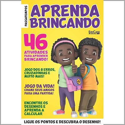 Aprenda Brincando - Ed. 01 (Atividades)  - Case Editorial