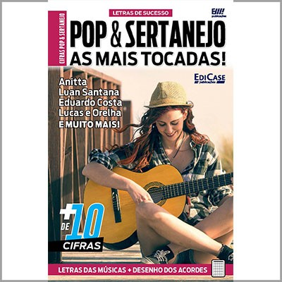Letras de Sucesso - Ed. 01 (Pop e Sertanejo)   - Case Editorial