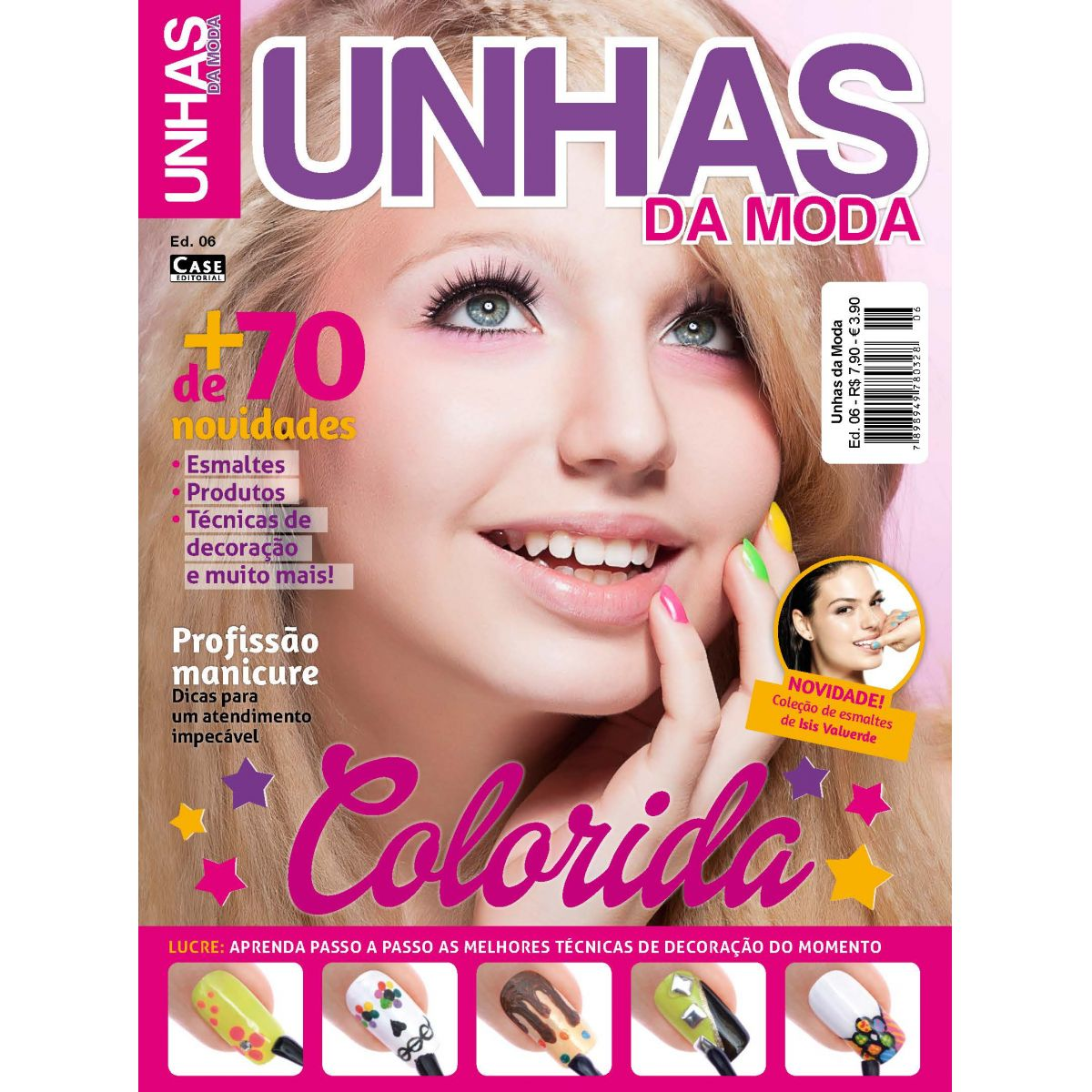 Unhas da Moda - Edição 06 - VERSÃO PARA DOWNLOAD  - EdiCase Publicações