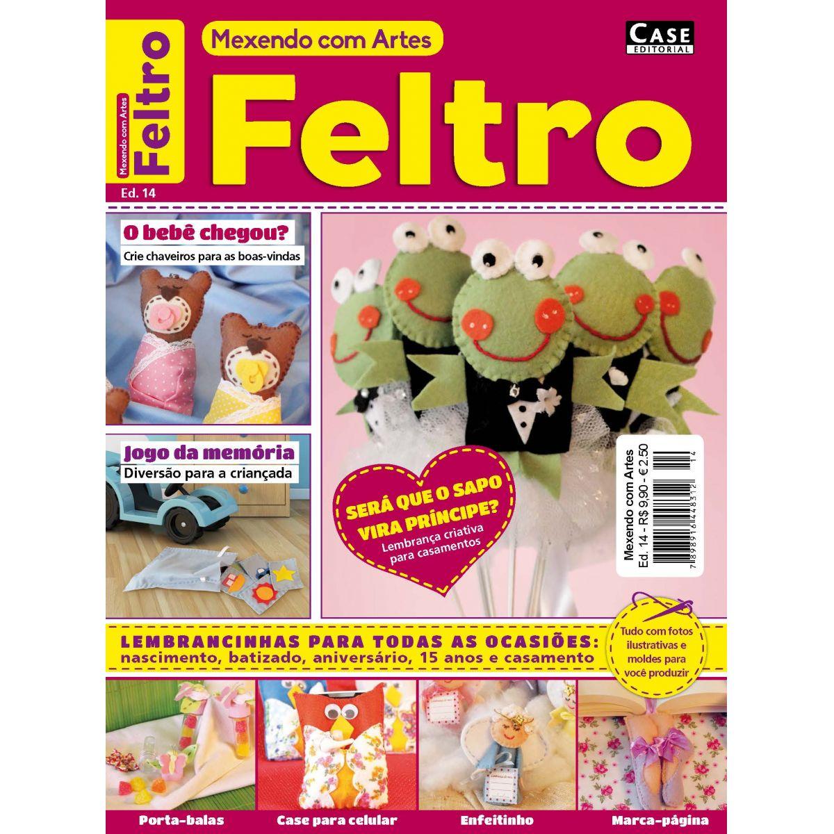 Mexendo com Artes - Edição 14 - VERSÃO PARA DOWNLOAD  - EdiCase Publicações