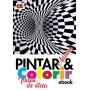 Pintar e Colorir Adultos Ed. 20 - Ilusão de ótica - PRODUTO DIGITAL (PDF)