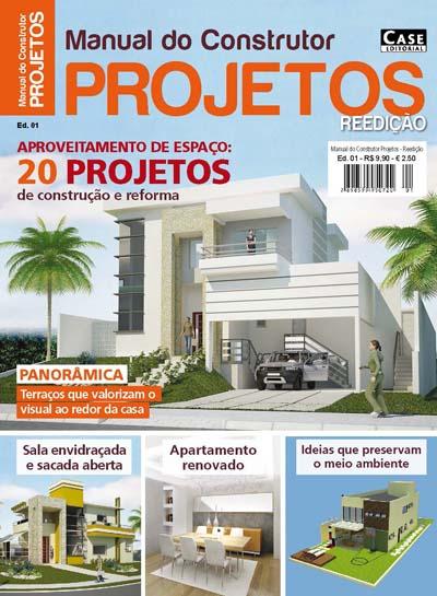 Manual do Construtor Projetos - Reedição - ESCOLHA SUA EDIÇÃO  - Case Editorial