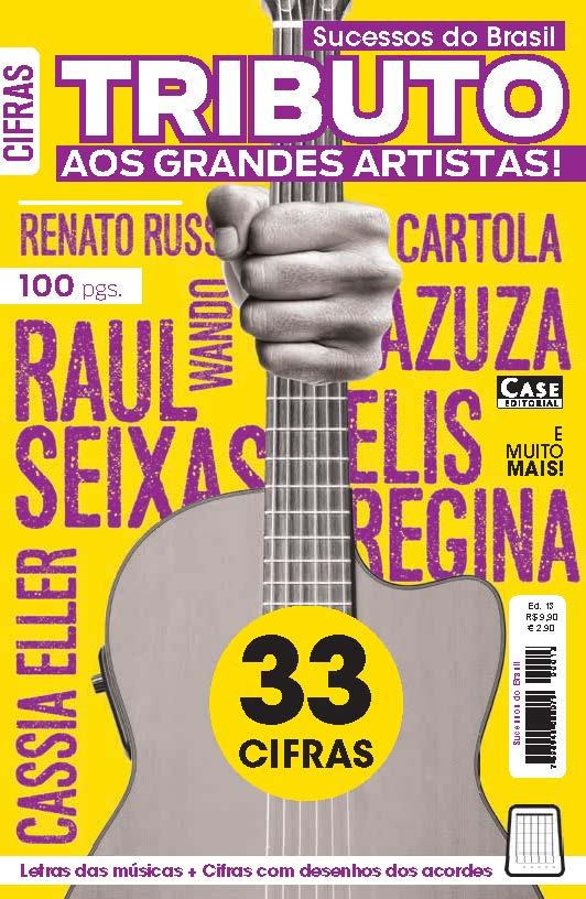 Sucessos do Brasil - Edição13  - EdiCase Publicações