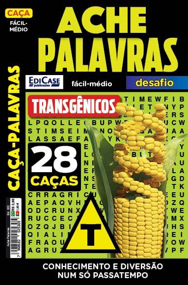 Ache Palavras Ed. 202 - Fácil/Médio - Transgênicos