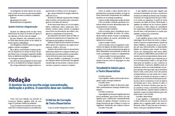 Apostilas Concursos Públicos Ed. 01 - Português e Redação - PRODUTO DIGITAL (PDF)