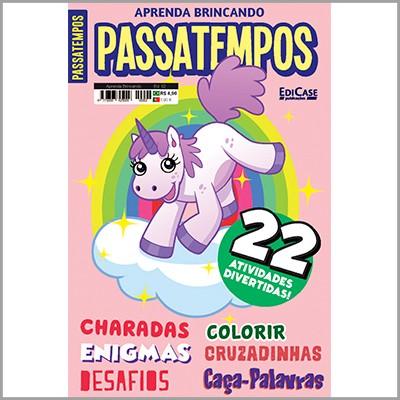 Aprenda Brincando Ed. 02 - Passatempos (22 Atividades)  - EdiCase Publicações