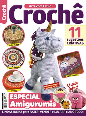 Arte Com Estilo Ed. 49 - Crochê Especial Amigurumis  - EdiCase Publicações