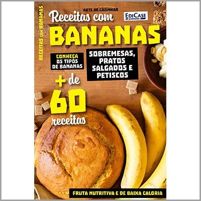 Arte de Cozinhar Ed. 03 - Receitas Com Bananas  - Case Editorial