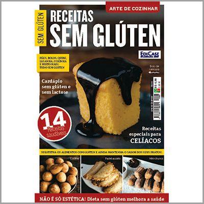 Arte de Cozinhar Ed. 04 - Receitas Sem Glúten  - EdiCase Publicações