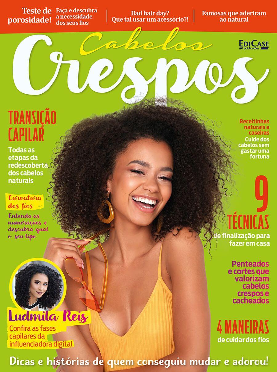 Cabelos Crespos Ed. 01 - Influenciadora Digital Ludmila Reis   - EdiCase Publicações