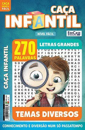 Caça Infantil Ed. 02 - Fácil - Temas Diversos  - EdiCase Publicações