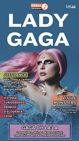 Cifras Dos Sucessos Ed. 16 - Lady Gaga -  PRODUTO DIGITAL (PDF)
