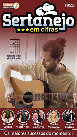 Cifras Dos Sucessos Ed. 20 - Sertanejo: Os Maiores Sucessos do Momento -  *PRODUTO DIGITAL (PDF)