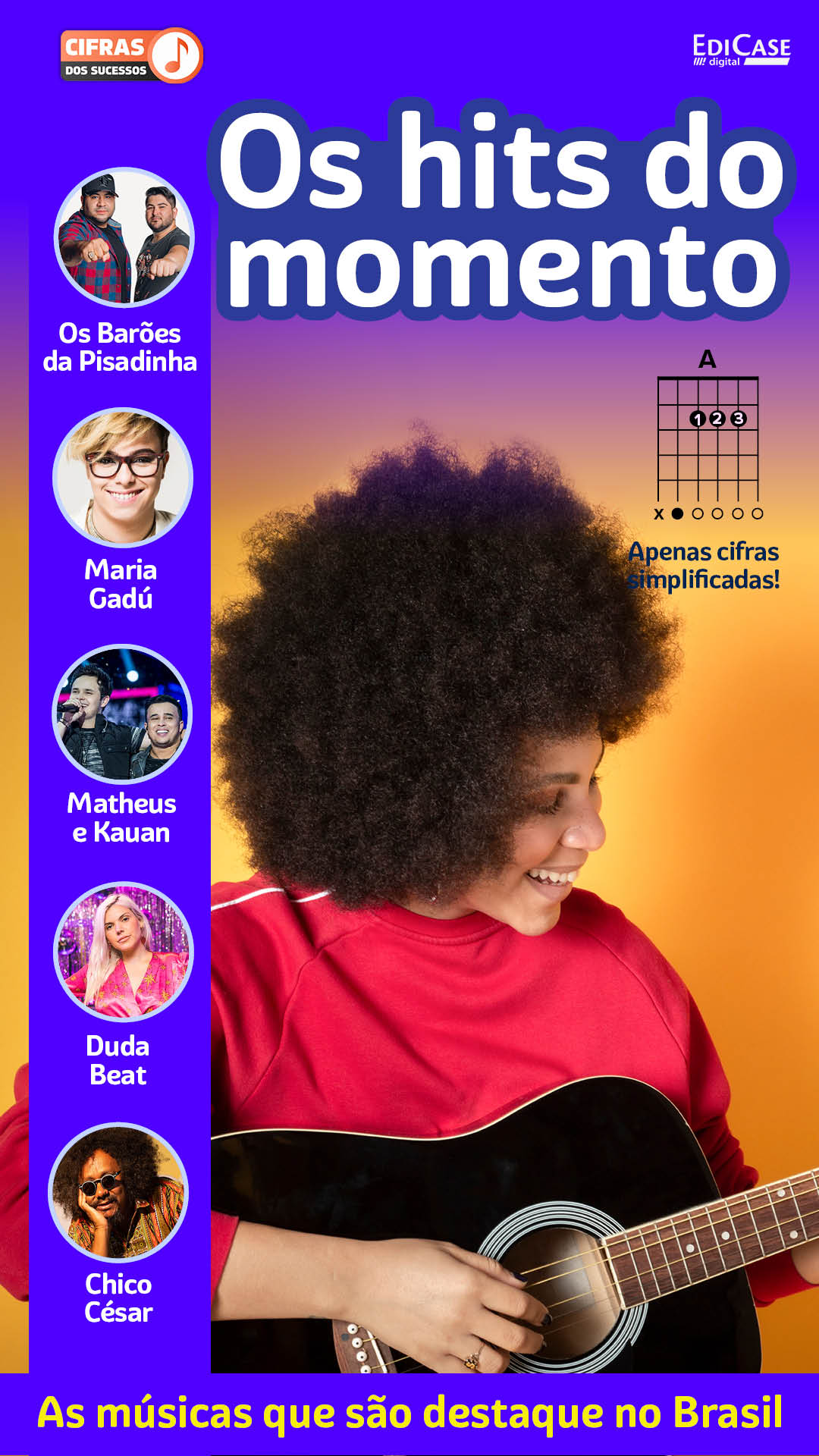 Cifras Dos Sucessos Ed. 22 - Os Hits do Momento -  *PRODUTO DIGITAL (PDF)