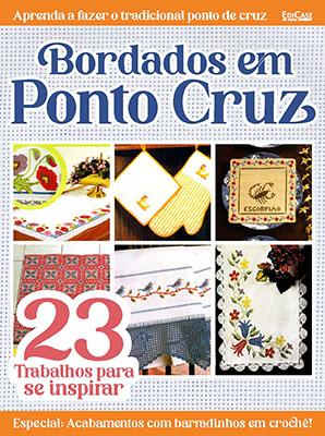Coleção Bordados Modernos  Ed. 01 - Bordados em Ponto Cruz: 23 Trabalhos Para Se Inspirar - *PRODUTO DIGITAL (PDF)