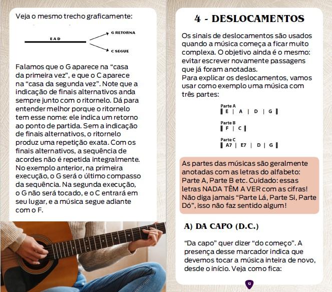 Coleção Toque Fácil Ed. 04 - Cifras para iniciantes *PRODUTO DIGITAL (PDF)