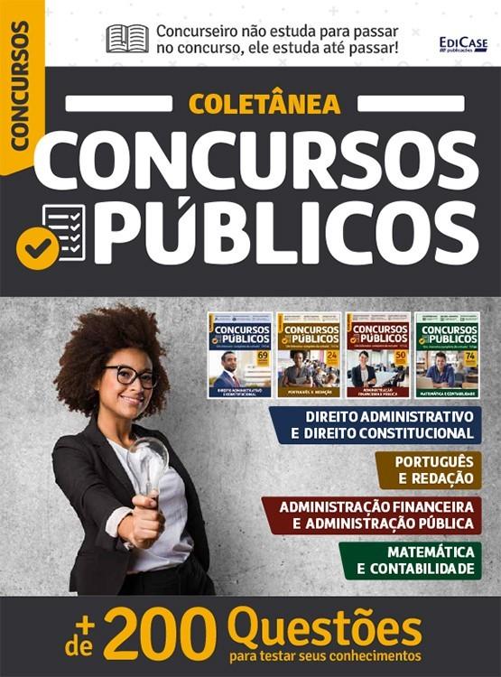 Coletânea Concursos Públicos - 4 Volumes