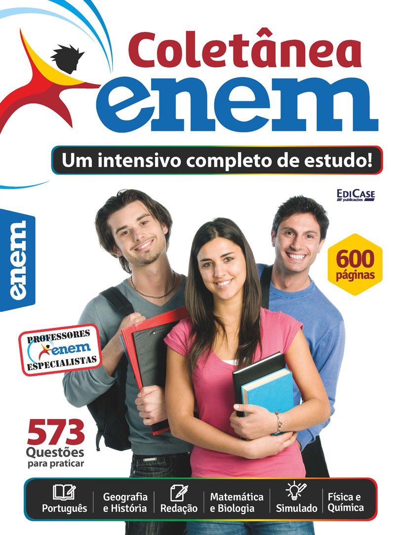 Coletânea ENEM - 6 Volumes - Lançadas em 2018  - EdiCase Publicações