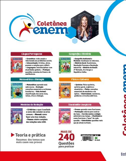 Coletânea ENEM Ed.01