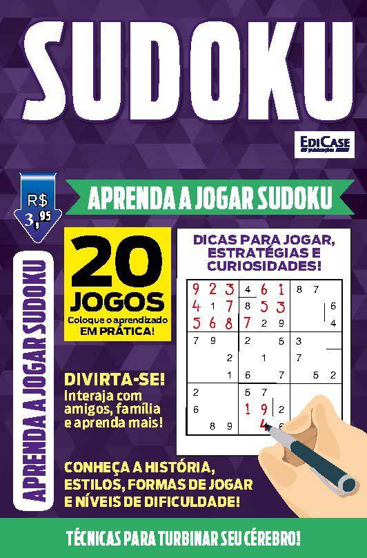 Como Jogar Sudoku - VERSÃO PARA DOWNLOAD (PDF) e IMPRIMIR  - EdiCase Publicações