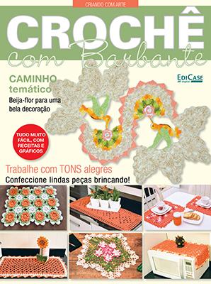 Criando Com Arte Ed. 02 - Crochê com Barbante - *PRODUTO DIGITAL (PDF)