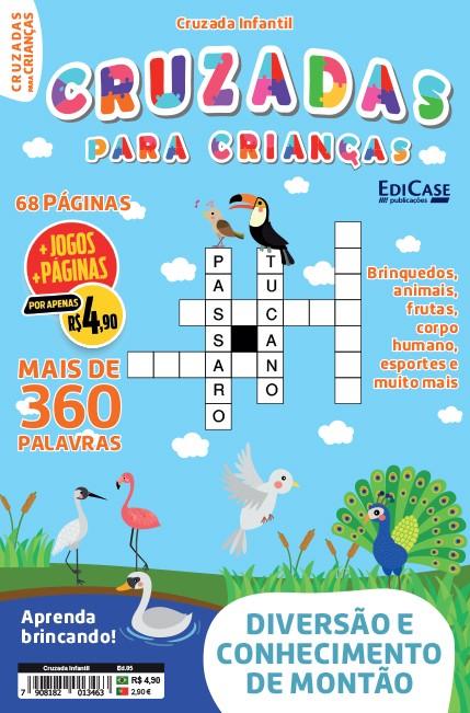 Cruzada Infantil  Ed. 05 - Mais de 360 Palavras