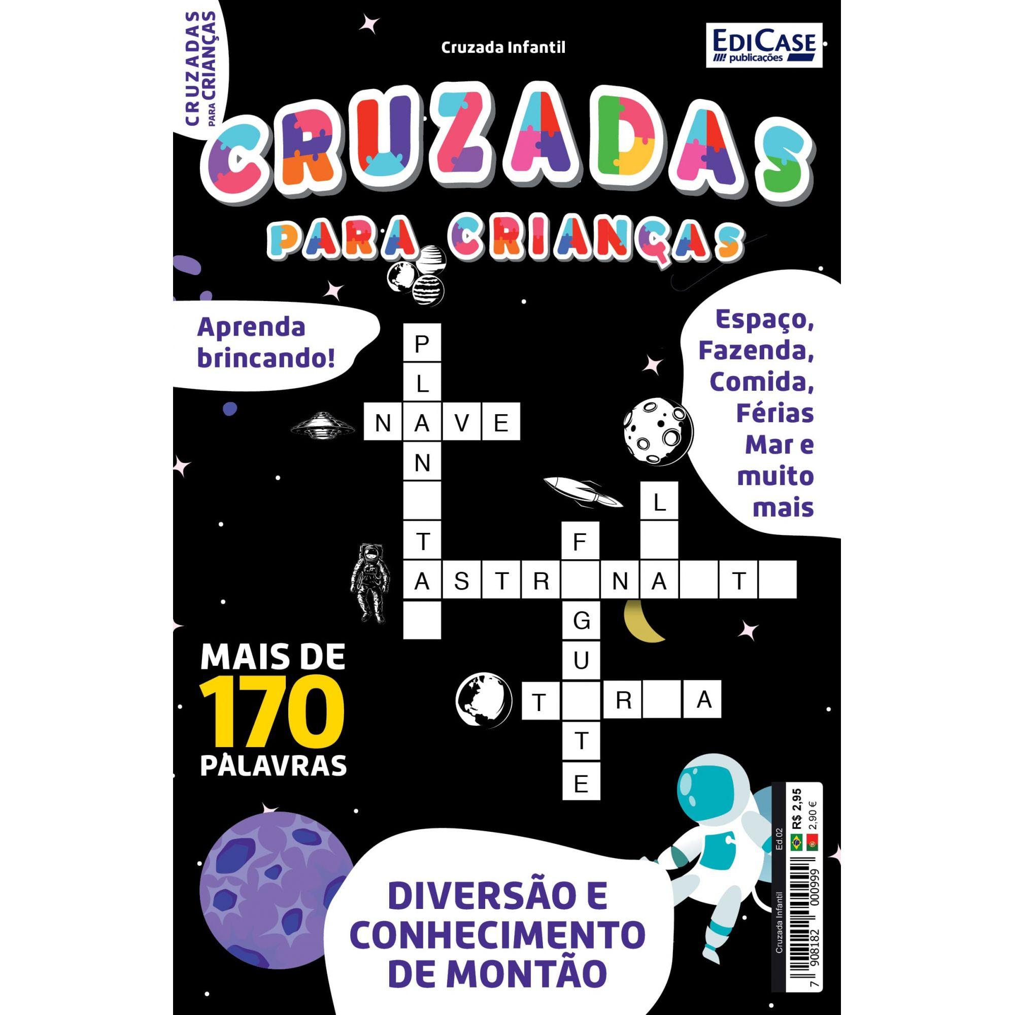 Cruzada Infantil  Ed. 02 - Mais de 170 Palavras