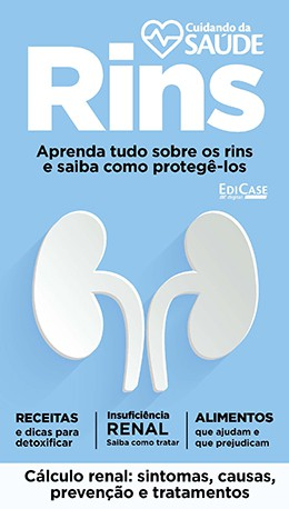 Cuidando da Saúde Ed. 02 - Rins - PRODUTO DIGITAL (PDF)