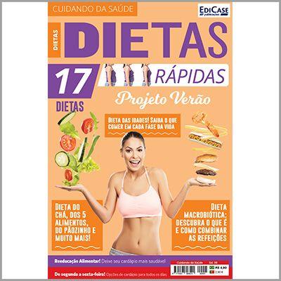 Cuidando da Saúde Ed. 05 - Dietas Rápidas (Projeto Verão)  - EdiCase Publicações