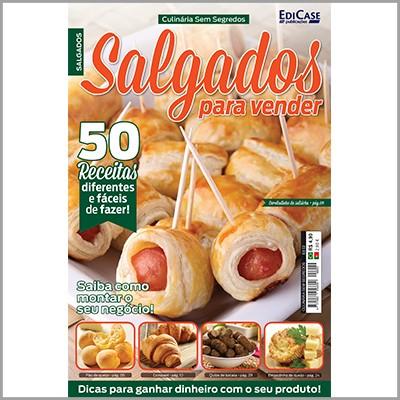 Culinária Sem Segredos Ed. 02 - Salgados Para Vender  - EdiCase Publicações