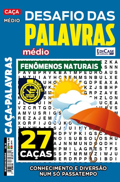 Desafio das Palavras Ed. 03 - Médio - Tema: Fenômenos Naturais