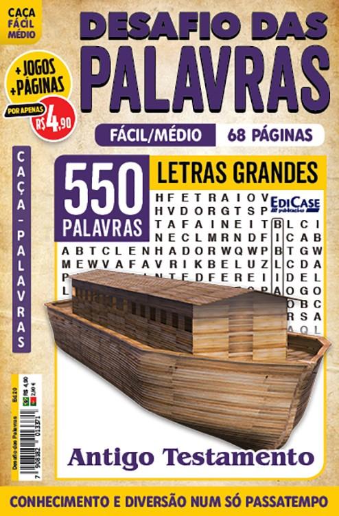 Desafio das Palavras Ed. 20 - Fácil/Médio - Letras Grandes - Antigo Testamento