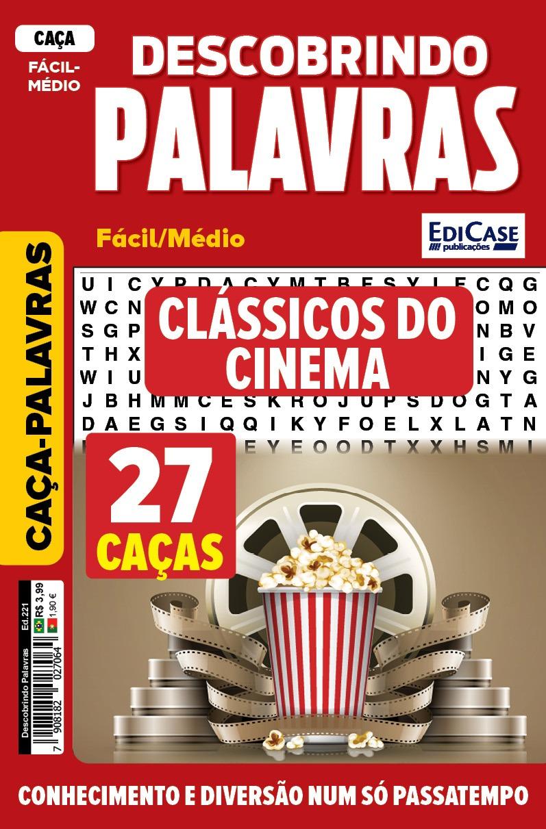 Descobrindo as Palavras Ed. 221- Médio/Difícil - Clássicos do Cinema