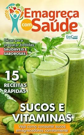 Emagreça Com Saúde Ed. 04 - Sucos e Vitaminas - *PRODUTO DIGITAL (PDF)